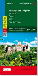 Nationalpark Thayatal - Kamptal - Znaim - Retz - Gars am Kamp, Wander + Radkarte 1:50.000