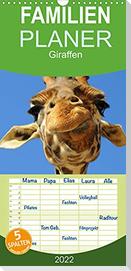 Giraffen (Wandkalender 2022 , 21 cm x 45 cm, hoch)