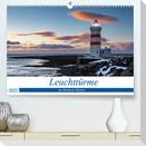 Leuchttürme - an Europas Küsten (Premium, hochwertiger DIN A2 Wandkalender 2022, Kunstdruck in Hochglanz)