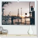 Paris - einzigartige Augenblicke (Premium, hochwertiger DIN A2 Wandkalender 2022, Kunstdruck in Hochglanz)