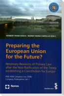 Preparing the European Union for the Future? - The Modernisation of the European Competition Law - The New Services Directive of the European Union