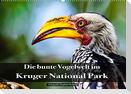 Die bunte Vogelwelt im Kruger National Park (Wandkalender 2022 DIN A2 quer)