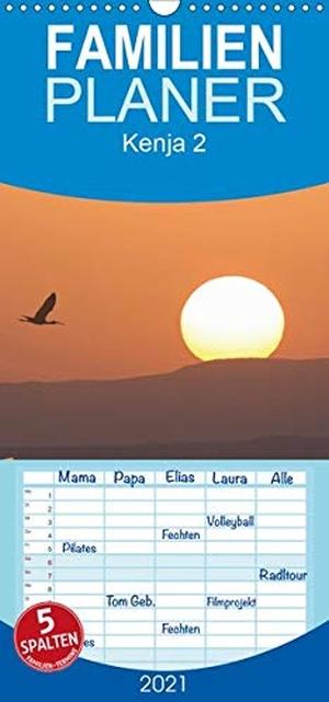 Herzog, Thomas. K E N I A - Familienplaner hoch (Wandkalender 2021 , 21 cm x 45 cm, hoch) - Auf Safari mit Thomas Herzog (Monatskalender, 14 Seiten ). Calvendo, 2020.
