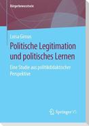 Politische Legitimation und politisches Lernen