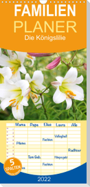 Die Königslilie - Familienplaner hoch (Wandkalender 2022 , 21 cm x 45 cm, hoch)