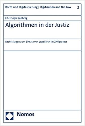 Rollberg, Christoph. Algorithmen in der Justiz - R