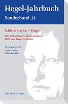 Schleiermacher / Hegel.