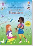 Mein erstes Anziehpuppen-Stickerbuch: Hannahs liebste Haustiere