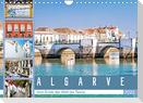 Algarve - Vom Ende der Welt bis Tavira (Wandkalender 2022 DIN A4 quer)