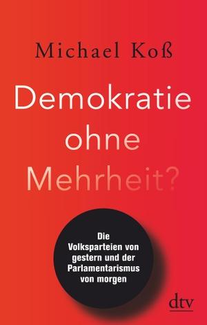 Koß, Michael. Demokratie ohne Mehrheit? - Die Vol
