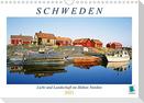Schweden: Licht und Landschaft im Hohen Norden (Wandkalender 2021 DIN A4 quer)