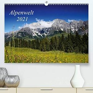 Schwarz, Nailia. Alpenwelt 2021 (Premium, hochwert