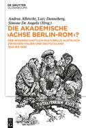 """Die akademische """"Achse Berlin-Rom""""?"""
