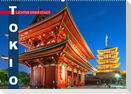 Tokio: Lichter einer Stadt (Wandkalender 2022 DIN A2 quer)