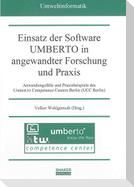 Einsatz der Software UMBERTO in angewandter Forschung und Praxis