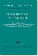 Schwache Nerven, starke Texte