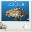 Tauchen: Wunderbares tiefblaues Meer (Premium, hochwertiger DIN A2 Wandkalender 2022, Kunstdruck in Hochglanz)