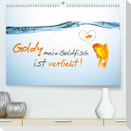 Goldy mein Goldfisch ist verliebt! (Premium, hochwertiger DIN A2 Wandkalender 2021, Kunstdruck in Hochglanz)