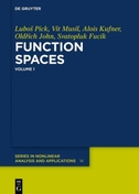 Function Spaces, 1