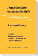 Transitions from Authoritarian Rule: Southern Europe