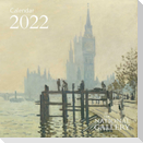 National Gallery - Impressionists Mini Wall Calendar 2022 (Art Calendar)