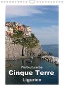 Weltkulturerbe Cinque Terre, Ligurien (Wandkalender 2022 DIN A4 hoch)