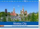 Moskau City (Tischkalender 2022 DIN A5 quer)