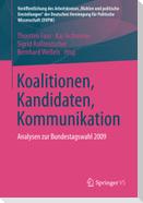 Koalitionen, Kandidaten, Kommunikation