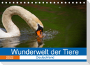 Wunderwelt der Tiere - Deutschland (Tischkalender 2022 DIN A5 quer)