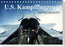 U.S. Kampfflugzeuge. Impressionen (Tischkalender 2022 DIN A5 quer)