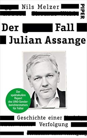 Melzer, Nils. Der Fall Julian Assange - Geschichte