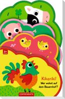 Mein Filz-Fühlbuch: Kikeriki! Wer wohnt auf dem Bauernhof?