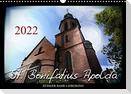St. Bonifatius Apolda (Wandkalender 2022 DIN A3 quer)