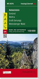 Nebelstein - Gmünd - Weitra - Groß Gerungs - Weinsberger Wald, Wander + Radkarte 1:50.000