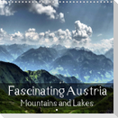 Fascinating Austria - Mountains and Lakes (Wall Calendar 2021 300 × 300 mm Square)