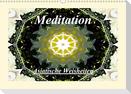 Meditation - Asiatische Weisheiten (Wandkalender 2021 DIN A3 quer)