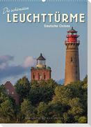 Die schönsten Leuchttürme - Deutsche Ostsee (Wandkalender 2022 DIN A2 hoch)
