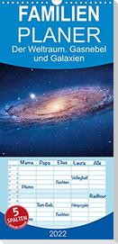 Der Weltraum. Gasnebel und Galaxien (Wandkalender 2022 , 21 cm x 45 cm, hoch)