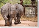 AFRIKA - Glück findet, wer es sucht (Tischkalender 2022 DIN A5 quer)