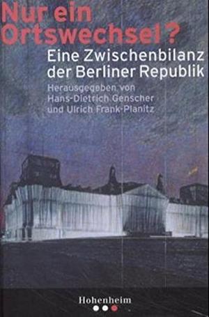 Genscher, Hans-Dietrich / Ulrich Frank-Planitz (Hr