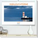 Inselleuchttürme Island (Premium, hochwertiger DIN A2 Wandkalender 2022, Kunstdruck in Hochglanz)