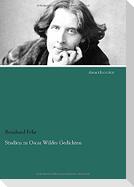 Studien zu Oscar Wildes Gedichten