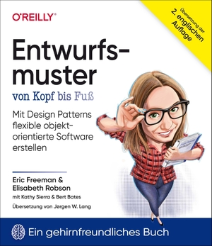 Freeman, Eric / Robson, Elisabeth et al. Entwurfsmuster von Kopf bis Fuß - Mit Design Patterns flexible objektorientierte Software erstellen. Dpunkt.Verlag GmbH, 2021.
