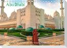 Abu Dhabi - Glanzvolle Hauptstadt der Vereinigten Arabischen Emirate (Tischkalender 2021 DIN A5 quer)