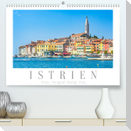 Istrien - Piran . Novigrad . Rovinj . Pula (Premium, hochwertiger DIN A2 Wandkalender 2022, Kunstdruck in Hochglanz)