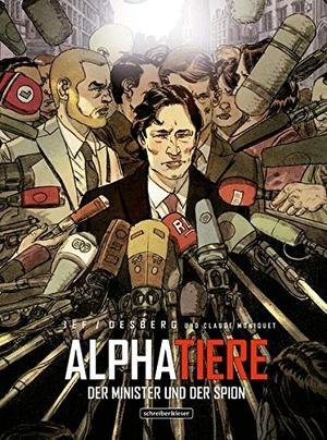 Jef Martinez / Stephen Desberg. Alphatiere - Der M