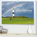 Leuchttürme: Die Schönsten an Nord- und Ostsee (Premium, hochwertiger DIN A2 Wandkalender 2022, Kunstdruck in Hochglanz)