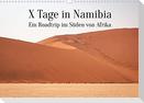 X Tage in Namibia - Ein Roadtrip im Süden von Afrika (Wandkalender 2022 DIN A3 quer)
