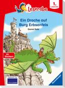 Ein Drache auf Burg Erbsenfels - Leserabe ab 1. Klasse - Erstlesebuch für Kinder ab 6 Jahren