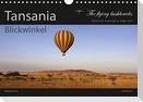 Tansania Blickwinkel 2021 (Wandkalender 2021 DIN A4 quer)